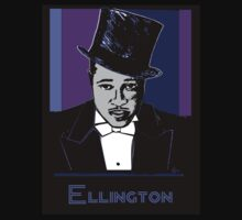 Duke Ellington Portrait Kids Clothes