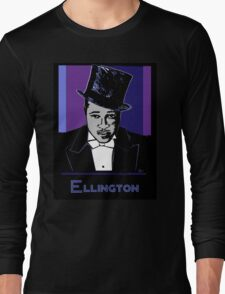 Duke Ellington Portrait Long Sleeve T-Shirt