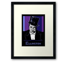 Duke Ellington Portrait Framed Print