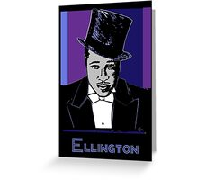 Duke Ellington Portrait Greeting Card