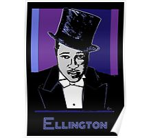 Duke Ellington Portrait Poster