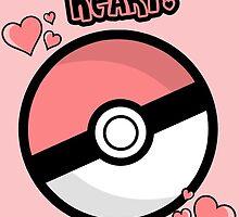 You've caught my heart! Pokemon Valentine's Card by talkpiece