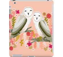 Owl Always Love You - Valentines Hearts Barn Owl by Andrea Lauren iPad Case/Skin