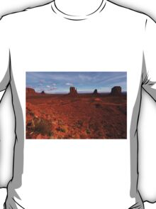 Monument Valley and Clouds3 T-Shirt
