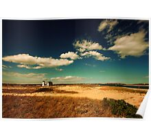 Stage Harbor Light House Cape Cod Poster