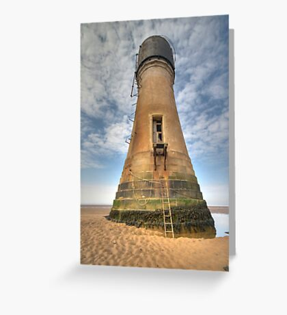 The last lighthouse Greeting Card