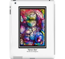 Space Ape (black letters) iPad Case/Skin