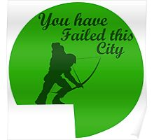 You have failed this city  Poster