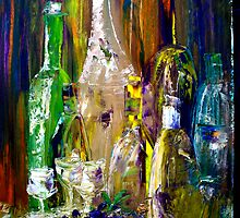 bottles of spirts  by Harry Gray