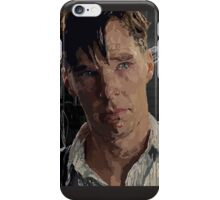 The Imitation Game - Benedict Cumberbatch Digital Portrait  iPhone Case/Skin
