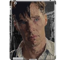 The Imitation Game - Benedict Cumberbatch Digital Portrait  iPad Case/Skin