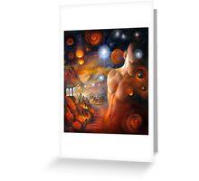 Venus Conjunct Mars Greeting Card