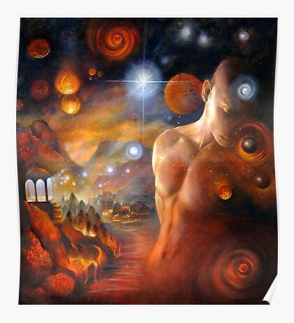 Venus Conjunct Mars Poster