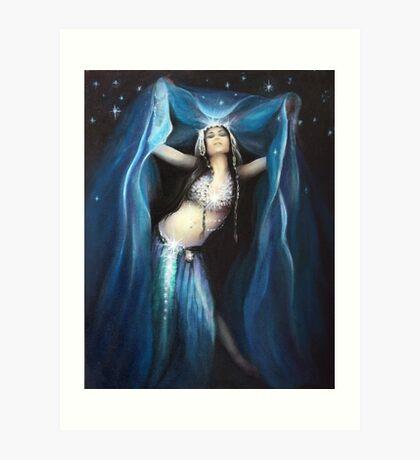 Priestess of Nuit Art Print