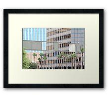Downtown Tucson Framed Print