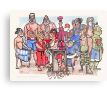 Street Fighter 2 - Reunion Edition Metal Print
