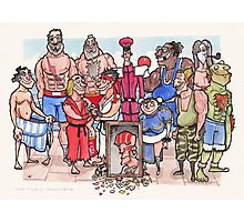 Street Fighter 2 - Reunion Edition Photographic Print