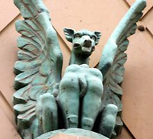 Melbourne Gargoyle by Lesley  Hill