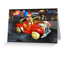 Why does it always rain on me? Greeting Card