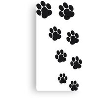 Animal Footsteps Canvas Print