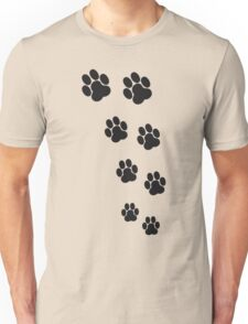 Animal Footsteps Unisex T-Shirt
