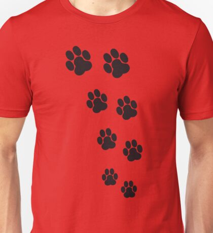 Animal Footsteps Unisex T-Shirt
