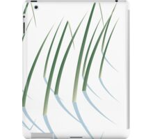 Reeds in Snow iPad Case/Skin