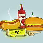 Fallout Burger by David Wildish
