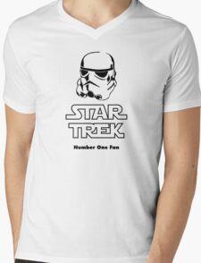STAR TREK number one fan #2 Mens V-Neck T-Shirt