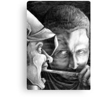Ohhh, I'm So Scary, Aren't I? Canvas Print