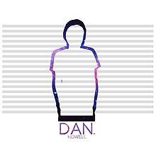 Dan Howell Galaxy Outline by scruffyjate