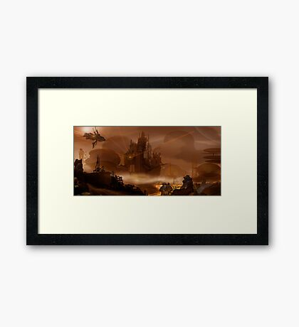 War Framed Print