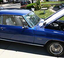 69 Chevy Camero by pmarella