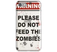 Zombies iPhone Case/Skin