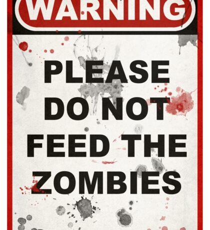 Zombies Sticker