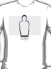 Dan Howell Galaxy Outline T-Shirt