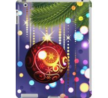 Red Ball and Branches iPad Case/Skin