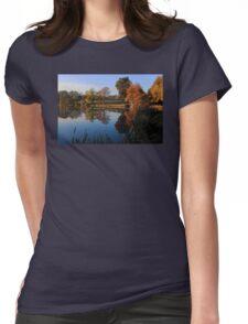 Hillsborough Lake Womens Fitted T-Shirt