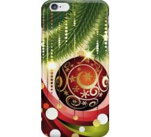 Red Ball and Branches 2 iPhone Case/Skin