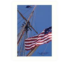 Flag Ship Art Print