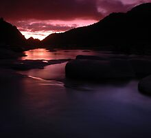 3 Rivers Sunset by Kozmo
