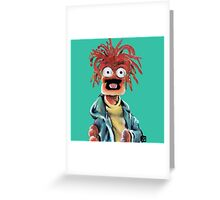 Pepe The King Prawn Fan Art The Muppets Greeting Card