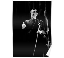 Salvador Dali at Columbia University 1964 Poster