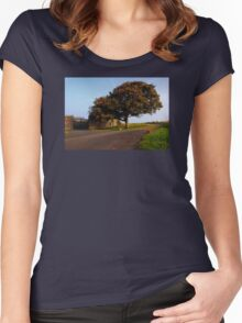 The Fabulous Fall  Women's Fitted Scoop T-Shirt
