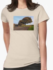 The Fabulous Fall  Womens Fitted T-Shirt