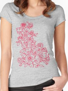 Roses 10 Women's Fitted Scoop T-Shirt