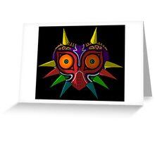 Majora's Mask Cell Shaded Greeting Card