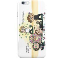 Flower Fight iPhone Case/Skin