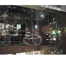 Sculptures through the window Photographic Print