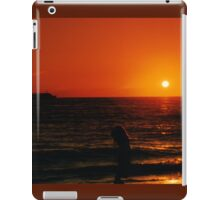 Sunset beach NJ. iPad Case/Skin